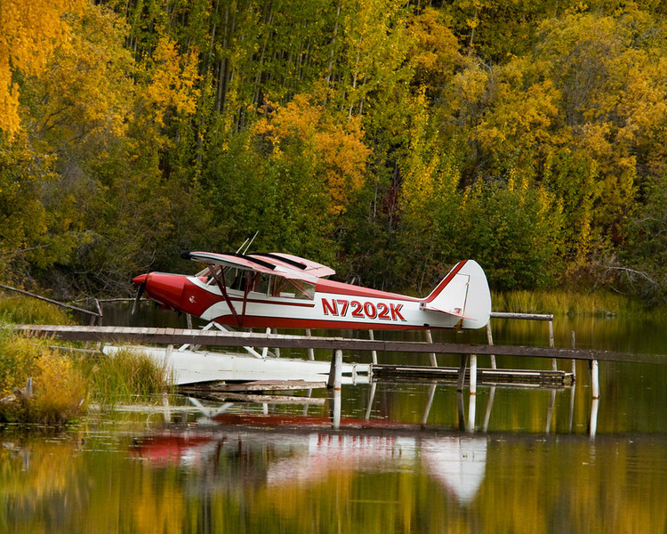 Float Plane (Alaskan Taxi) - Alaska Fall Tour - John Remy - October 2009