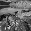 Baranof Lake Black and White