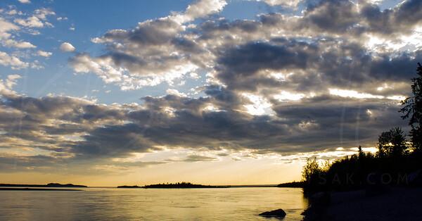 Knik River, AK //