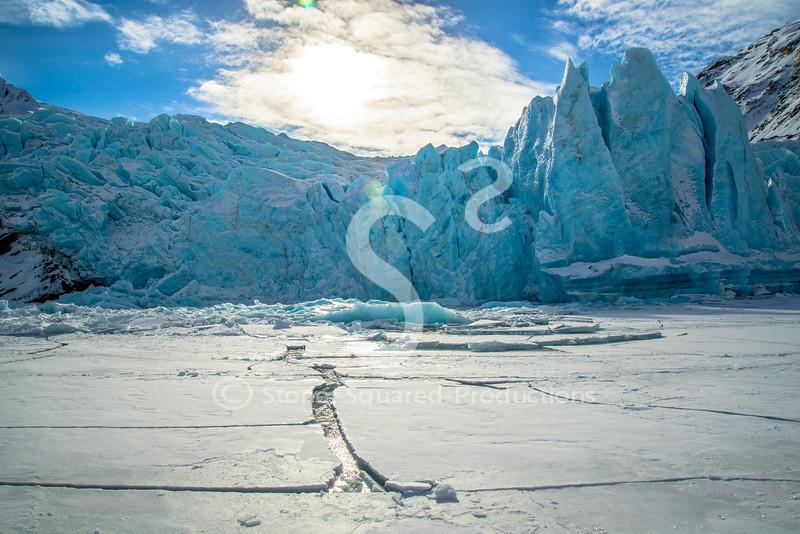 Open Water Glacier