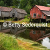 Rotting Boathouses, Hammer Slough, Petersburg