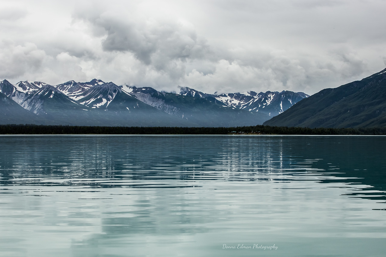 Crescent Lake, Alaska<br /> Redoubt Mountain Lodge