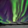 Aurora Borealis Mountain Rising