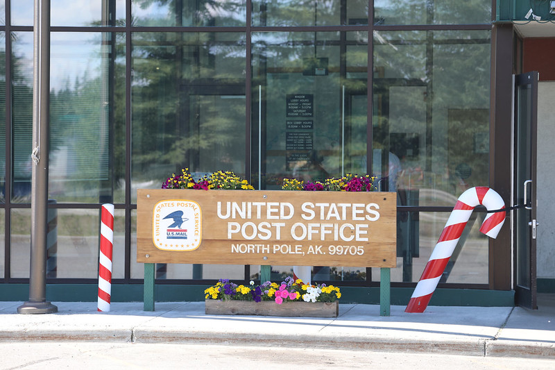 Post office at North Pole