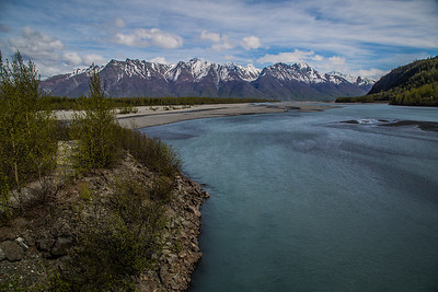 Knik River - 20 days later