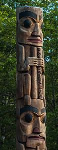 Tlingit Pole - Sitka