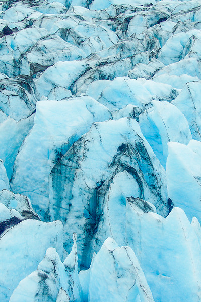 Photo Tour of Alaska: Glacier near Wolverine Creek