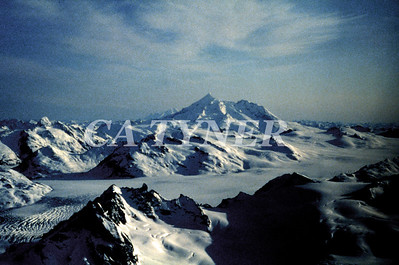 Mount Illiamna Katmai National Park Alaska