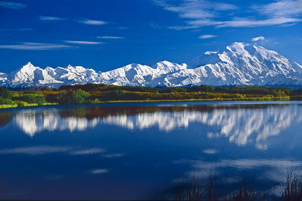 Reflection Pond at Denali National Park, Alaska