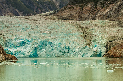 End of Sawyer Glacier