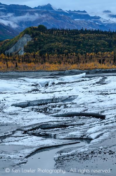 Matanuska Glacier terminus