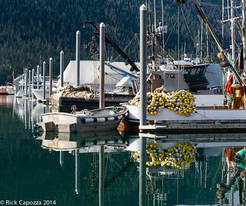 Harbor in Petersburg, Alaska.