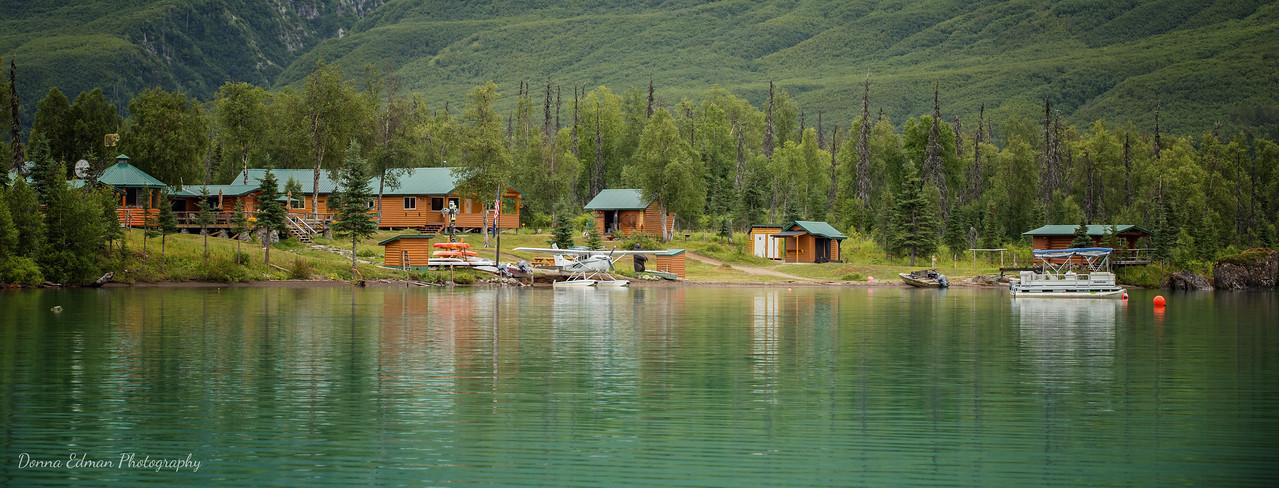 Crescent Lake, Alaska<br /> Redoubt Mountain Lodge
