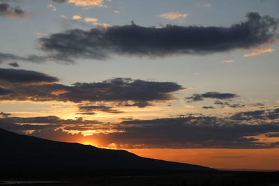 Sunset at Black Rapids