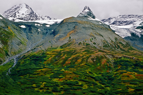 Mountains near Valdez, Alaska
