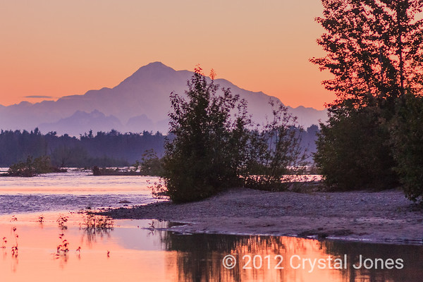 Mt. McKinley from the Talkeetna River