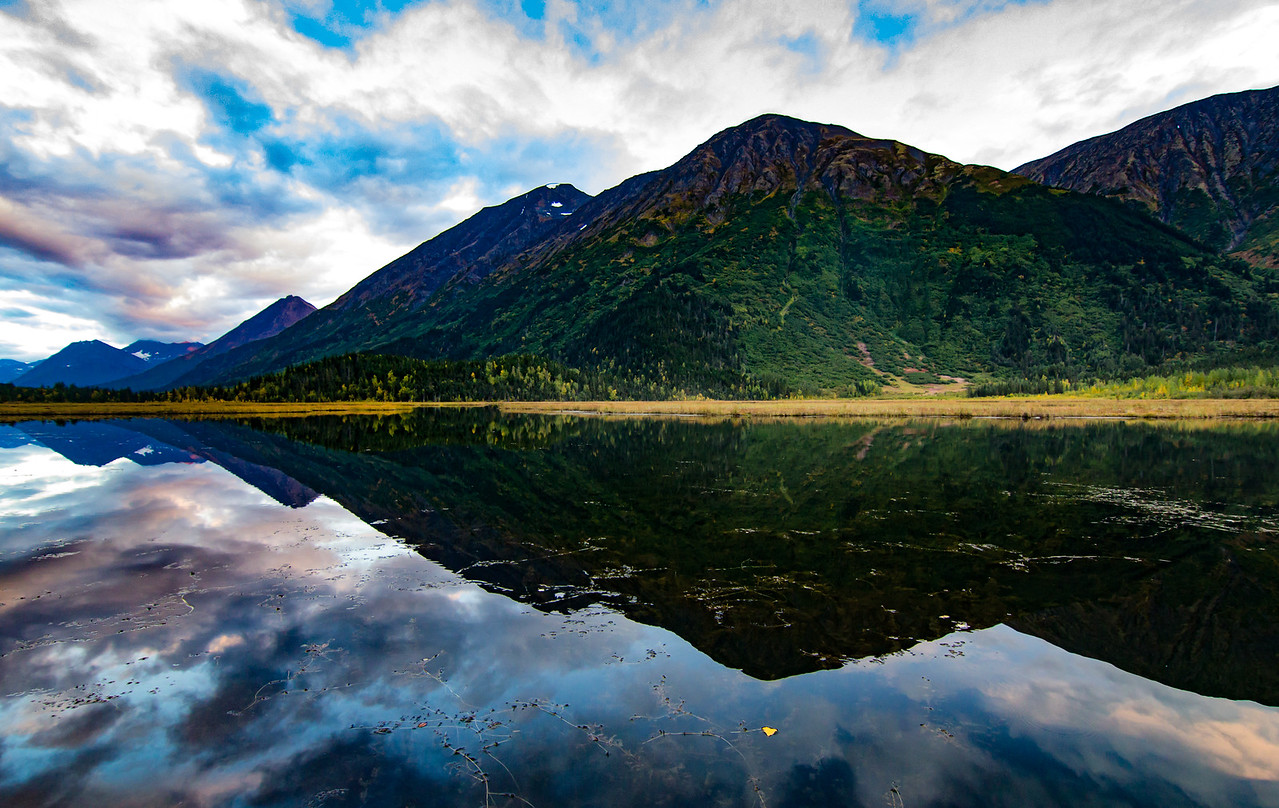 Tern Lake at Moose Pass, Alaska