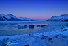 Study in Blue - Turnagain Arm, Alaska - Sheldon Farwell - March 2007