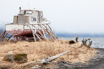 Dry docked, Seward, Alaska