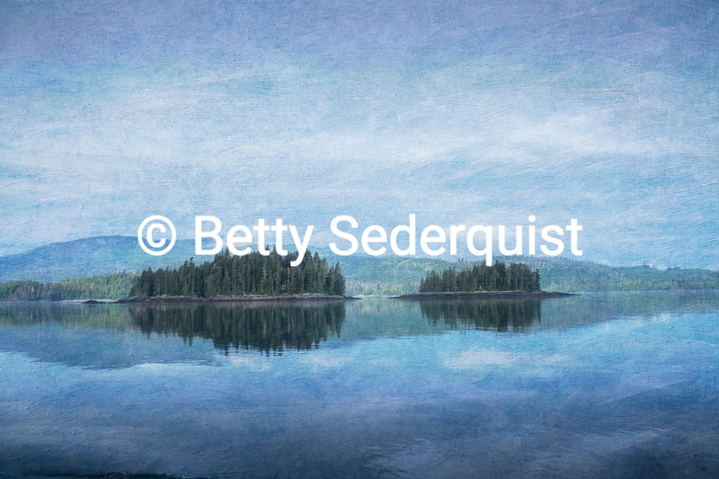 Sumner Strait Photo Painting, Alaska