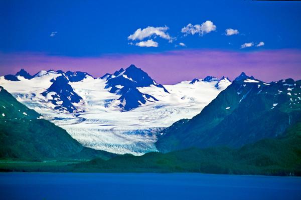 Homer Alaska ice field