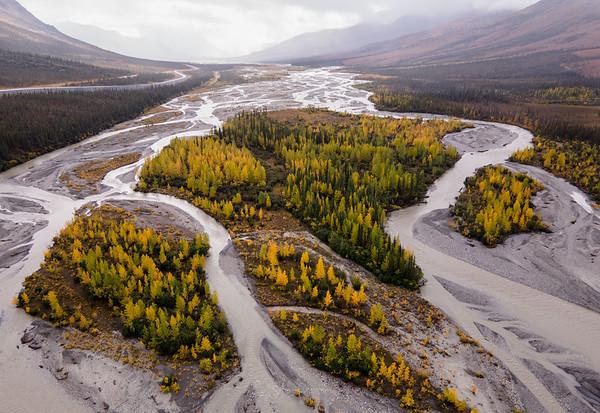 Aerial Views of the Yukon-Koyukuk River