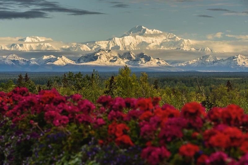 Mt. McKinley on August 30, 2015