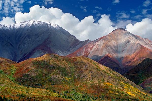 Autumn Scenery in Alaska