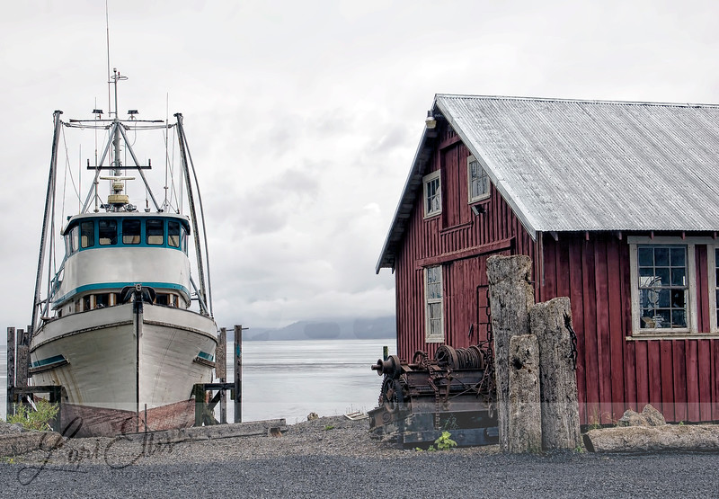 Boat and Machine Shop in Icy Strait Point, Hoonah, Alaska