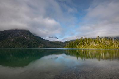 Baranof Lake on a Calm Summer Morning