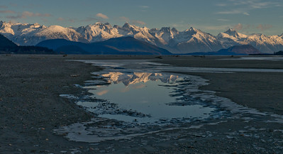 Chilkat River twilight