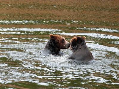Water play, Alaska