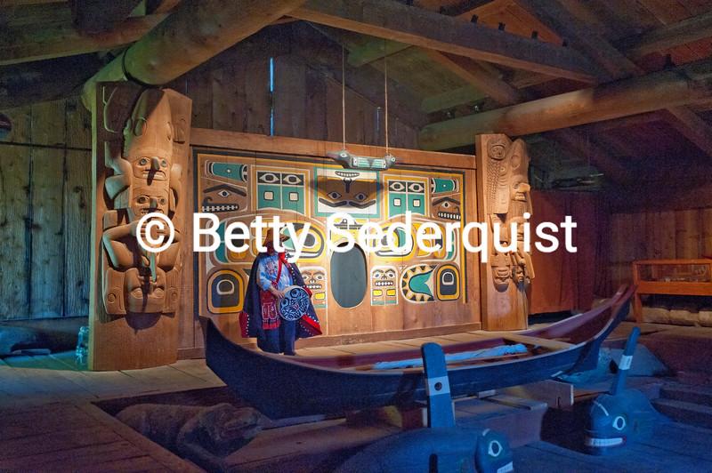 Clan House, Wrangell, Alaska