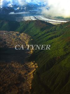 Dual Glacier National Park Alaska