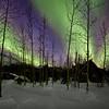 Aurora Borealis Bands over Wiseman