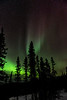 Aurora Borealis with Shooting Star 2 - Alaska and Northern Lights - Mark Gromko - March 2013