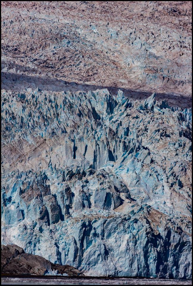Aialik Glacier - detail