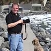 Another vacationing dog at Portage Glacier.