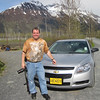 Our rental car.