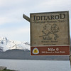 Starting point of the Iditarod in Seward, Alaska.
