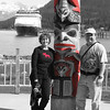 I loved the red in this picture.  Our ship, the ms Statendam is in the background.  Haines, AK.