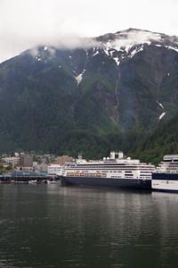 Juneau Docks when we woke up.