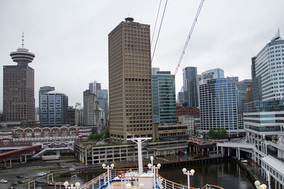 Vancouver from the Sapphire Princess