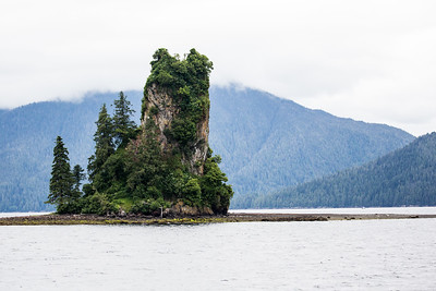 Ketchikan - Misty Fjords National Monument - Eddystone Rock