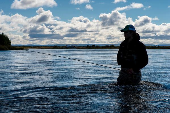 NoSeeUm Lodge - Kvichak River, Alaska - © Jim Klug Outdoor Photography / Yellow Dog Flyfishing Adventures