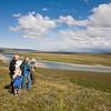 Tourists on Arctic Coastal Plain