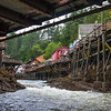 Under the Bridge at Ketchikan's Creek Street