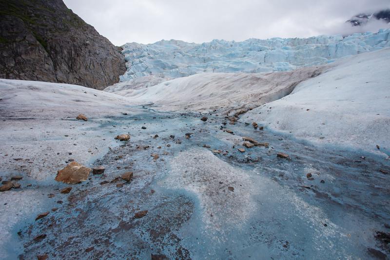 High Up on Mendenhall Glacier