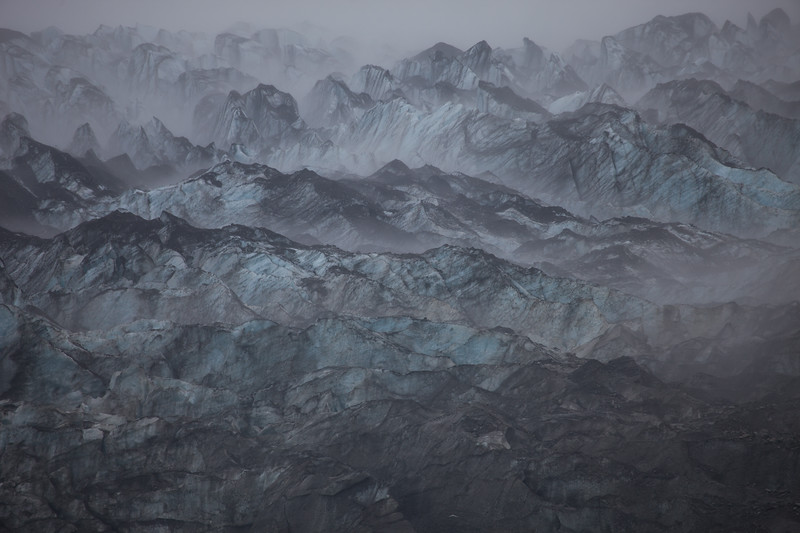 Mist Over the Glacier
