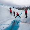 Ice Hopping on Mendenhall Glacier, Alaska